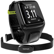 TomTom Runner GPS Sports Running Watch with Heart Rate Monitor - Black