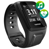 TomTom Runner 2 - Music Cardio -  Black / Anthracite - Small