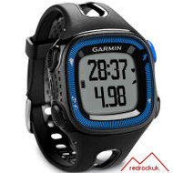 Garmin Forerunner 15 GPS ANT+ Running Watch Large, Black/Blue(Garmin Newly Overhauled)