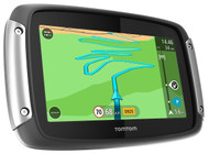 "TomTom Rider 400 4.3"" Premium Pack Sat Nav - Europe- Free Lifetime Maps & Traffic"