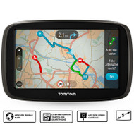 TomTom GO 51 5in GPS Sat Nav - Worlwide Lifetime Maps & Traffic Via Smartphone