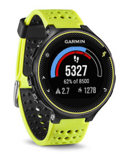 Garmin Forerunner 230 Colour Screen ANT+ GPS Sports Running Watch - Black/Yellow