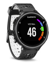Garmin Forerunner 230 Colour Screen ANT+ GPS Sports Running Watch - Black/White