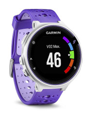 Garmin Forerunner 230 Colour Display ANT+ GPS Sports Running Watch - Purple/White