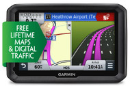 "Garmin Dezl 570LMT-D 5"" Truck Sat Nav - Europe - Free Lifetime Maps & D Traffic"