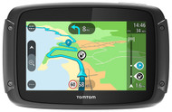 "TomTom Rider 420 4.3"" Motorcycle GPS Sat Nav - UK & Full Europe Lifetime Maps"