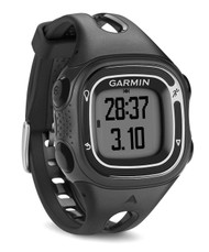 Garmin Forerunner 10 GPS Sports Running Watch - Small - Black / Silver (Garmin Newly Overhould)