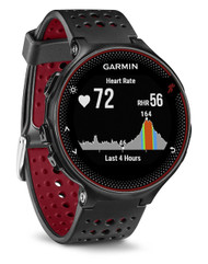 Garmin Forerunner 235 ANT+ GPS Integrated HRM Sports Running Watch - Black/Red (Garmin Newly Overhauled)