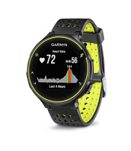 Garmin Forerunner 235 ANT+ GPS Integrated HRM Sports Running Watch - Black/Yellow (Garmin Newly Overhauled)