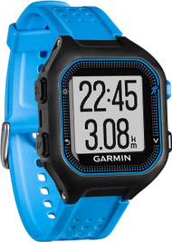 Garmin Forerunner 25 GPS Running & Activity Tracker Watch - Blue - Large (Garmin Newly Overhauled)