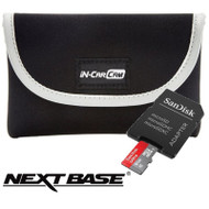 Nextbase Go Pack - Dash Cam Carry Case & 8GB SanDisk Micro SD Card