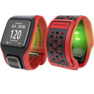TomTom Multi-sport Cardio GPS Watch - Red / Black