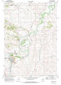 7.5' Topo Map of the Acme, WY Quadrangle