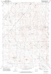 7.5' Topo Map of the Appel Butte, WY Quadrangle