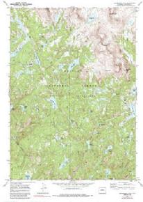 7.5' Topo Map of the Horseshoe Lake, WY Quadrangle