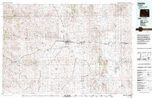 USGS 30' x 60' Metric Topographic Map of Gillette, WY Quadrangle