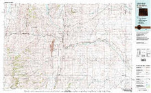 USGS 30' x 60' Metric Topographic Map of Kemmerer, WY Quadrangle