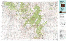 USGS 30' x 60' Metric Topographic Map of Laramie Peak, WY Quadrangle