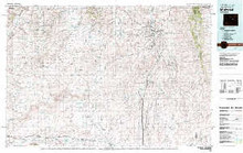 USGS 30' x 60' Metric Topographic Map of Midwest, WY Quadrangle