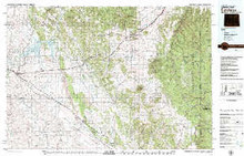 USGS 30' x 60' Metric Topographic Map of Sundance, WY Quadrangle