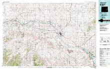 USGS 30' x 60' Metric Topographic Map of Douglas, WY Quadrangle