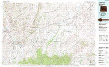USGS 30' x 60' Metric Topographic Map of Evanston, WY Quadrangle