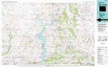 USGS 30' x 60' Metric Topographic Map of Firehole Canyon, WY Quadrangle