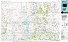 USGS 30' x 60' Metric Topographic Map of Firehole Canyon, WY Quadrangle