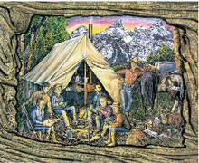 Field Camp (postcard)