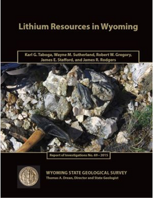 Lithium Resources in Wyoming (2015)