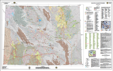 Oil and Gas Map of Wyoming (2012)