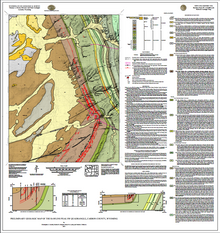 Preliminary Geologic Map of the Rawlins Peak SW Quadrangle, Carbon County, Wyoming (2015)