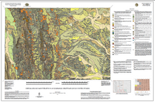 Surficial Geologic Map of the Afton 30' x 60' Quadrangle, Sublette and Lincoln Counties, Wyoming (2015)