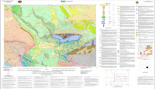 Geologic Map of the Casper 30' x 60' Quadrangle, Natrona and Converse Counties, Central Wyoming (2005)