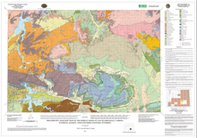 Preliminary Geologic Map of the Shirley Basin 30' x 60' Quadrangle, Carbon, Natrona, Albany, and Converse Counties, Wyoming (2011)