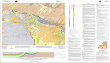 Geologic Map of the Bairoil 30' x 60' Quadrangle, Carbon, Sweetwater, Fremont, and Natrona Counties, Wyoming (2011)
