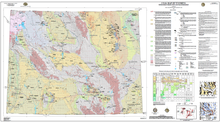 Coal map of Wyoming—With Energy Production and Transportation