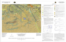 Surficial Geologic Map of the Chicken Spring Area, Sweetwater County, Wyoming (2014)