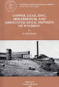 Copper, Lead, Zinc, Molybdenum, and Associated Metal Deposits of Wyoming (1997)