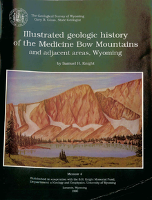 Illustrated Geologic History of the Medicine Bow Mountains and Adjacent Areas, Wyoming (1979)
