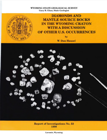 Diamonds and Mantle Source Rocks in the Wyoming Craton with a Discussion of other US Occurrences