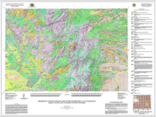 Preliminary Surficial Geologic Map of the Laramie Peak 30' x 60' Quadrangle, Albany, Platte, and Converse Counties, Wyoming (2015)