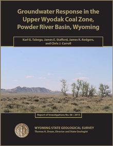 Groundwater Response in the Upper Wyodak Coal Zone, Powder River Basin (2015)