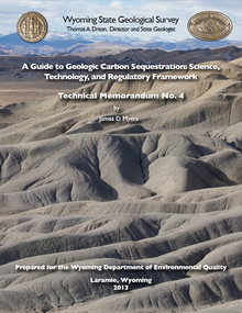 A Guide to Geologic Carbon Sequestration: Science, Technology, and Regulatory Framework (2013)