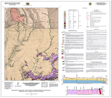 Preliminary Geologic Map of the Mc Intosh Meadows Quadrangle, Fremont and Natrona Counties, Wyoming (2014)
