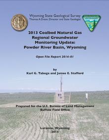 2013 Coalbed Natural Gas Regional Groundwater Monitoring Update: Powder River Basin, Wyoming (2014)