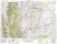 USGS 1° x 2° Area Map Sheet of Ogden, UT Quadrangle