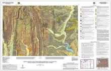 Surficial Geologic Map of the Fontenelle Reservoir 30' x 60' Quadrangle, Lincoln, Sublette, and Sweetwater Counties, Wyoming (2013)