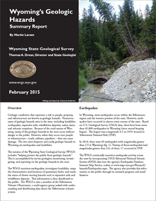 Wyoming's Geologic Hazards: Summary Report