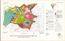 Geologic map of lower Geyser Basin, Yellowstone National Park, Wyoming